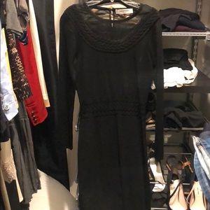Valentino black dress sz 42